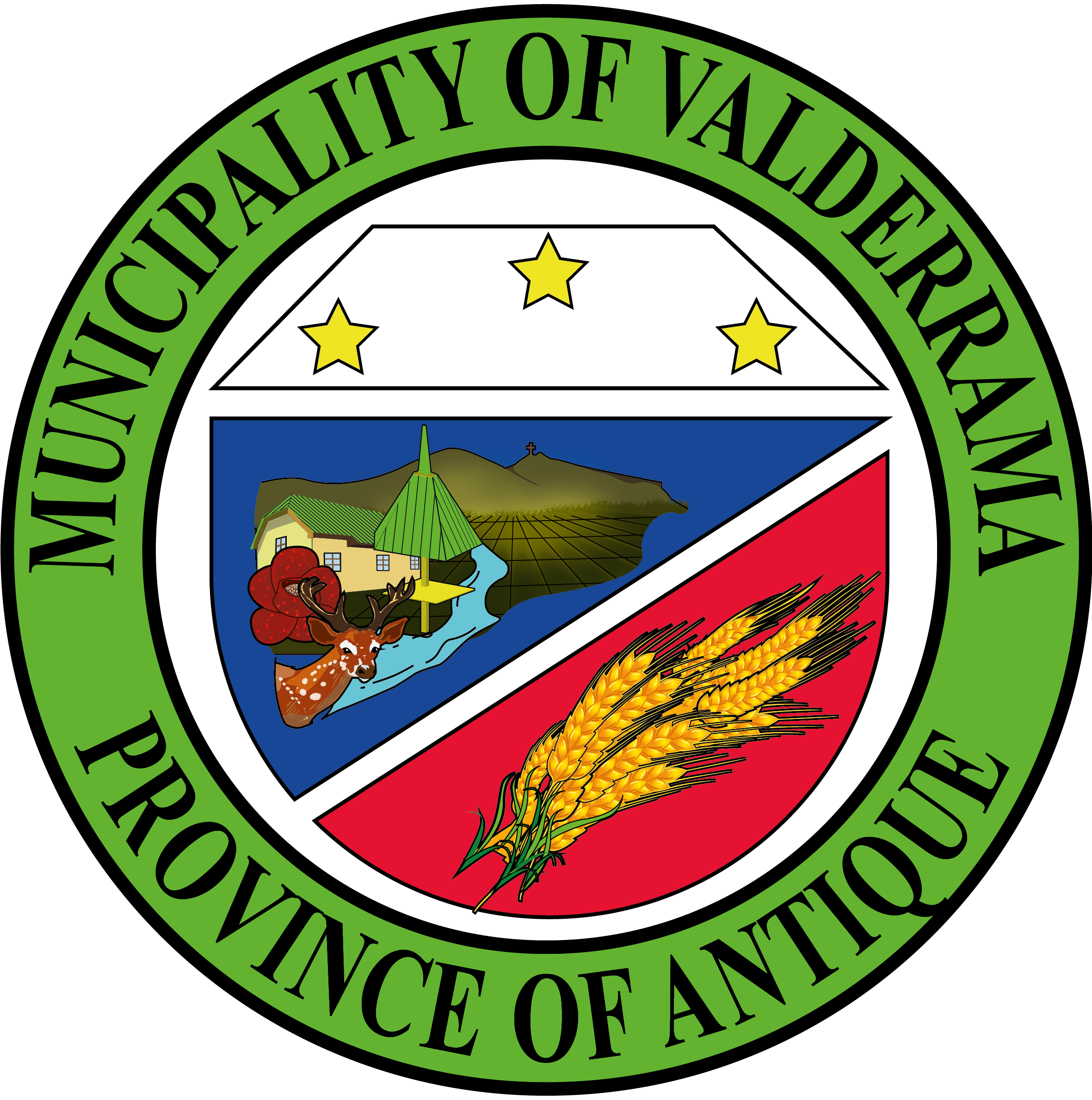 Municipality of Valderrama Official Logo